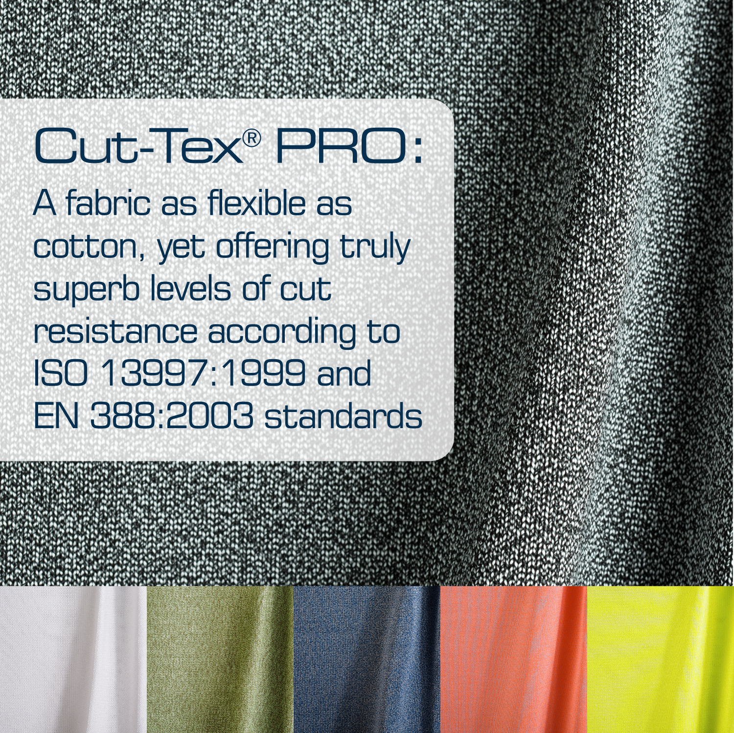 Cut Tex Pro Cut Resistant Fabric Now Available In