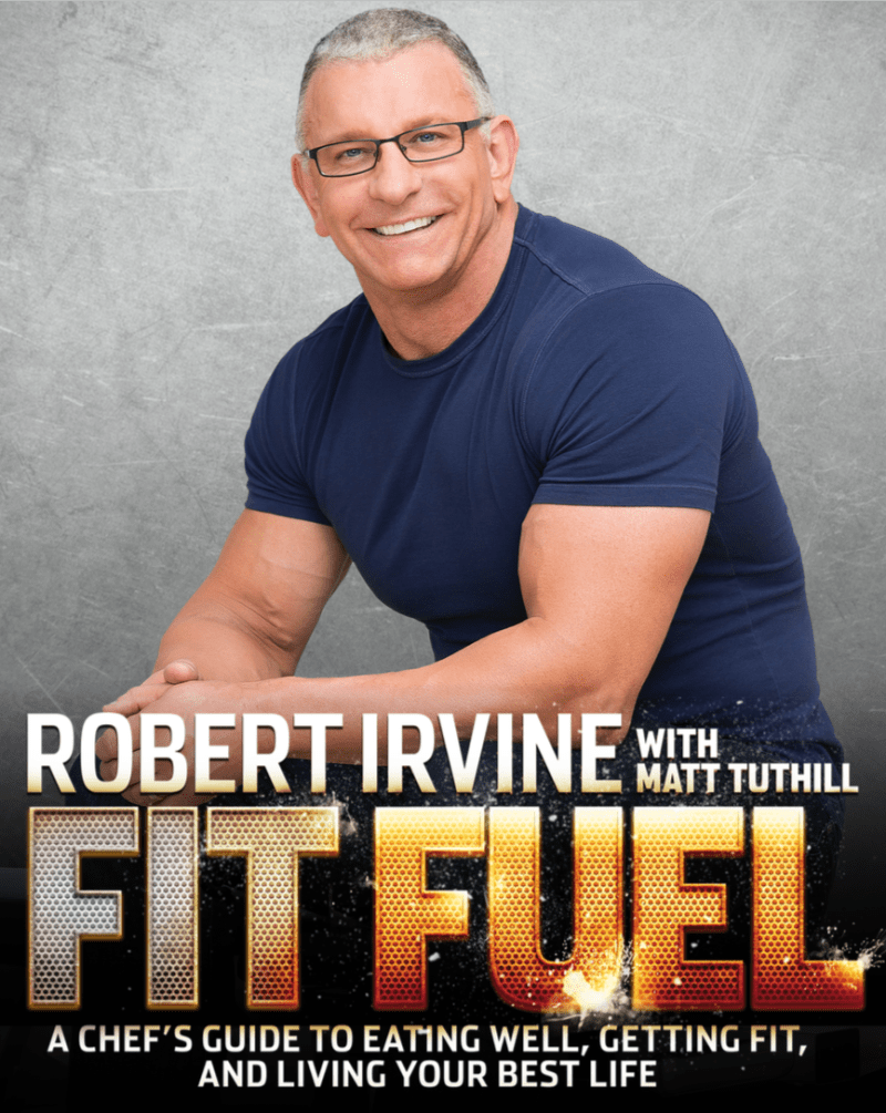 Robert Irvine Takes On Health And Fitness In Latest Book
