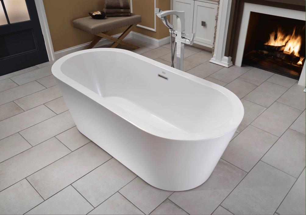 Jacuzzi Luxury Bath Introduces The Celeste Freestanding