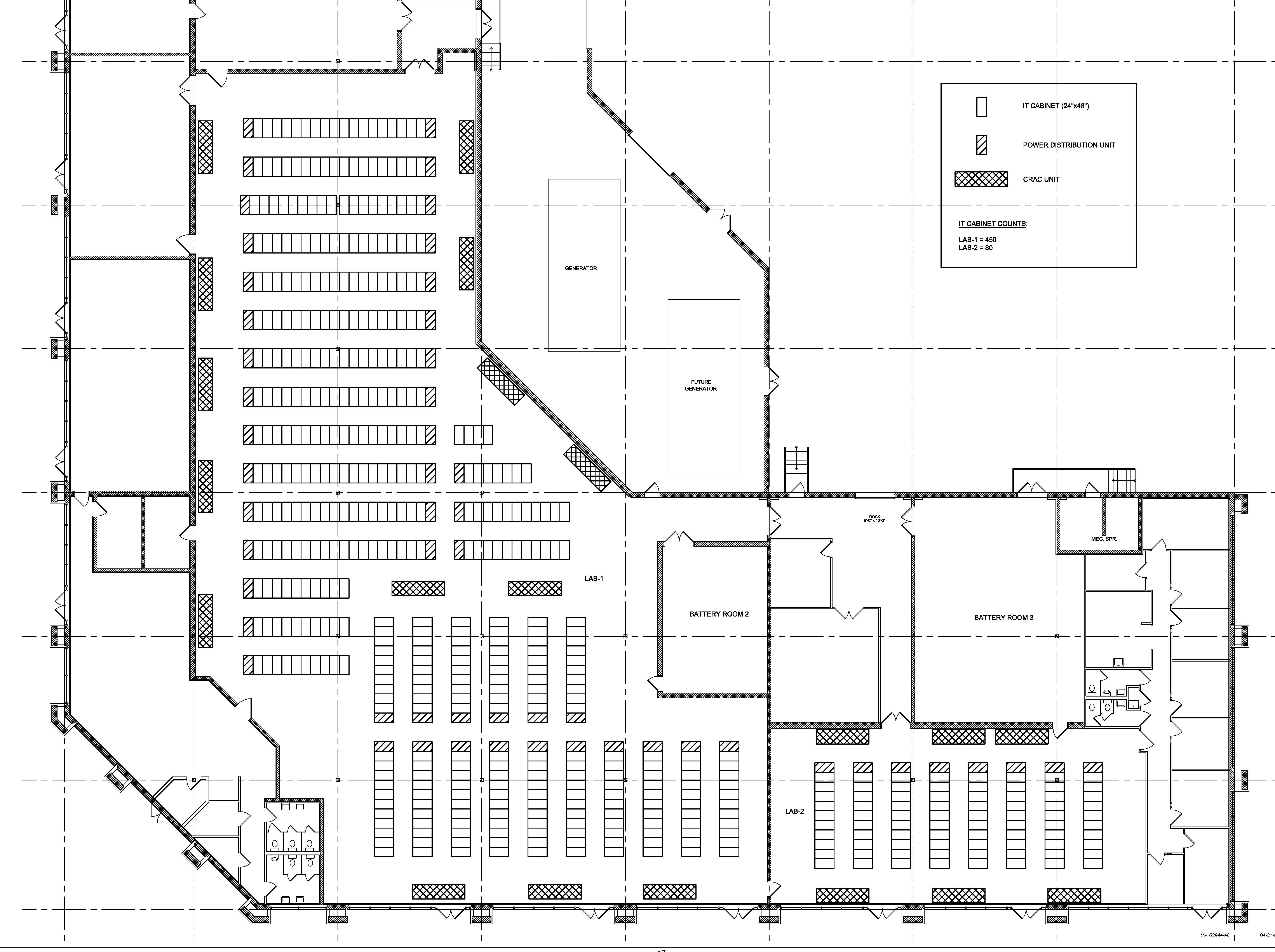 Electronic Environments Assessment Services Used To Evaluate Merritt S Data Center Facility In