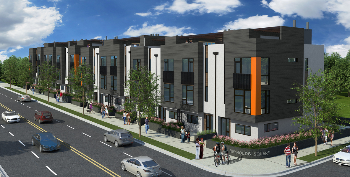 Reynoldstown Attains Contemporary Townhomes As Icon