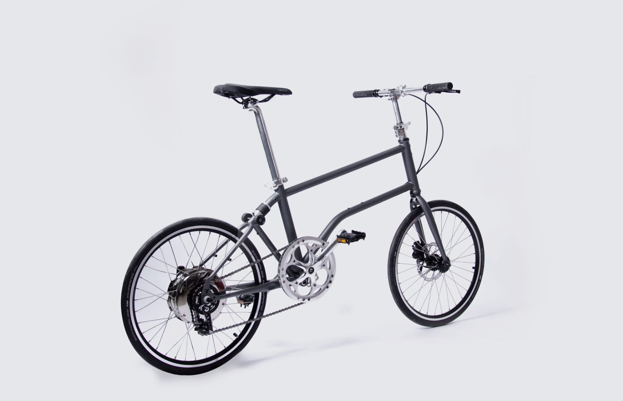 The Vello Bike Is The World S First Self Charging