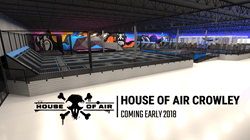 House of Air Trampoline Park - Crowley, Texas