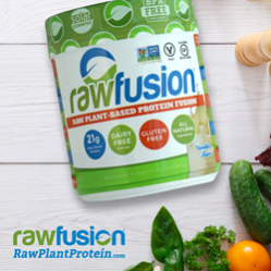 RawFusion Protein Bottle - Non-GMO Project Verified Label