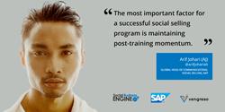Arif Johari (AJ) - Global Head of Communications, Social Selling, SAP