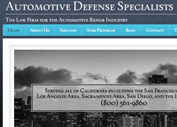 New Post on the Value of a Bureau of Automotive Repair Criminal Defense Attorney