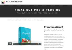 ProAnimation 2 - FCPX Tools - Pixel Film Studios