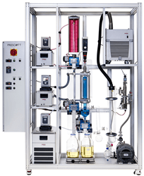 The Prescott 1000 thin film distillation system