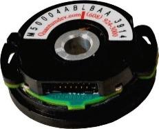 commutating encoder, incremental encoder, programming encoder, low profile encoder, high volume rotary encoder, commutate bldc motor rotary encoder