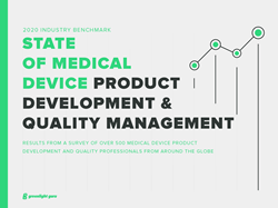 State of Medical Device Product Development & Quality Management Report 2020