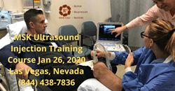 msk ultrasound injection training course
