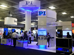 PI's booth at Photonics West 2019