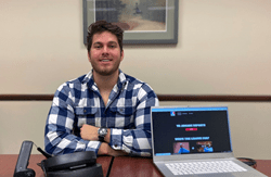 Florida Poly alumni Andre Ripley has received funding from Facebook and Oculus VR to track elements such as players, prize money, teams, rules, and cheating during virtual reality gaming tournaments for the new Pistol Whip VR game.