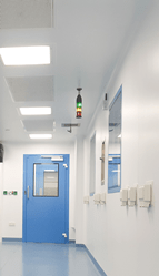LEDspan, G-CON, POD, cleanroom, lights, led lights