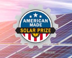 U.S. Department of Energy American-Made Solar Prize logo