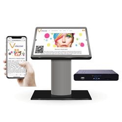 Touchless Interactive Digital Signage Display with Mobile Phone