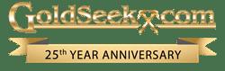 GoldSeek 25 Year Logo