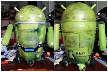 垃圾桶Android 小人