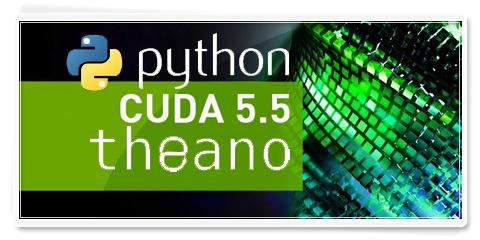 Install Python, Theano, CUDA in Ubuntu