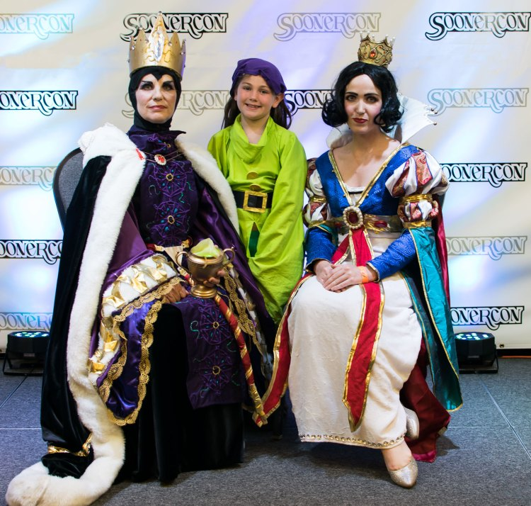 """""""Snow White, Evil Queen & Dopey"""" by Hikaru and Athena Star SoonerCon 24 Best of Show"""