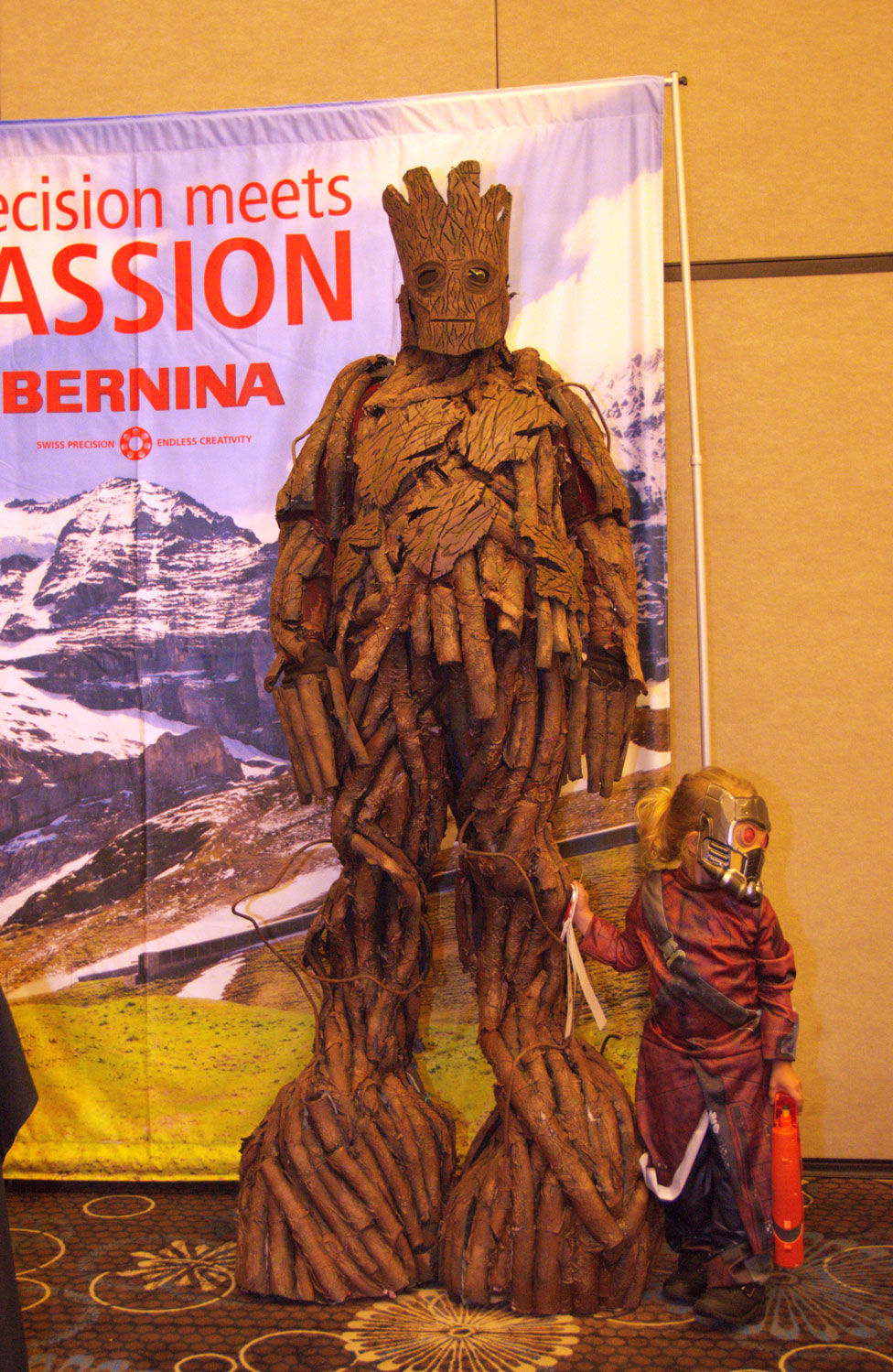 """""""Groot and Star Lord"""" by Alexis Bailey SoonerCon 25 Best of Show"""