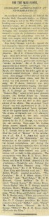 1914 WW1 week 19 Newcastle Emlyn concert