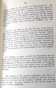 Borough of Aberystwyth Minutes and agendas continuation