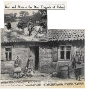 1915 week 60 The War Illustrated -Poland