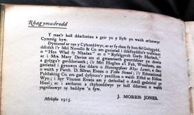 1915 WW1 week 45 ADX-1366-1 Rhagymadrodd tud VI