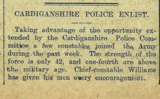 1915 WW1 week 46 CTA 09-06-15 police enlist