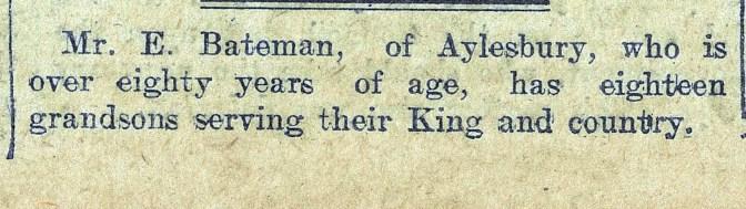 1915 WW1 week 46 CTA 09-06-1915 eighteen grandsons