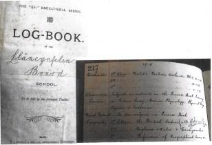1915 WW1 week 53 Llancynfelin Log Book