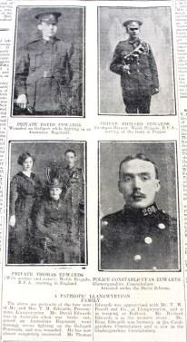 1916 week 79 CN 4-2-16 Llangwyryfon family