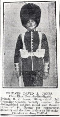 1916 week 79 CN 4-2-16 Private Jones Ffair Rhos