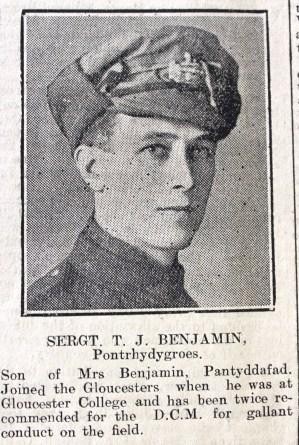 1916 week 83 CN 3-3-16 Pontrhydygroes