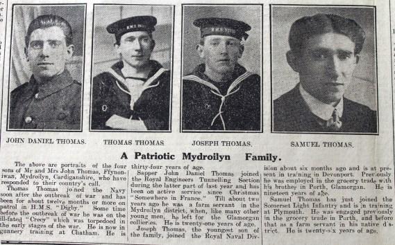 1916 week 83 CN3-3-16 Mydroilyn patriotic family