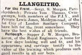 1916 week 84 CN 10-3-16 Llangeitho