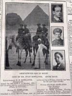 1916 week 85 CN 17-3-16 Aberystwyth men in Egypt