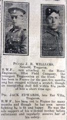 1916 week 87 CN 31-3-16 Tregaron