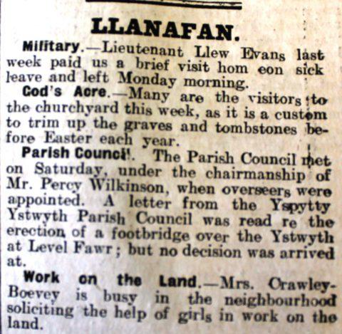 1916 week 90 CN 21-4-16 Llanafan