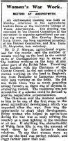 1916 WW1 week 91 CN 28-4-16 Women's War work