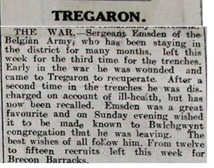 1916 week 94 CN 19-5-16 Tregaron