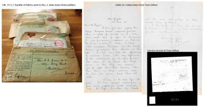 1916 week 99 Letters of J. Islan Jones and Tom Sefton