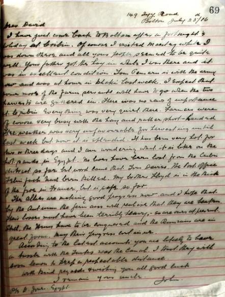 LIB.73.3.7 Letter from Rev Islan Jones to David Jones resized