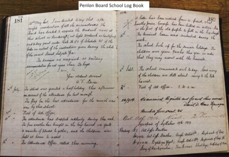 week 103 Penlon School Log Book edited