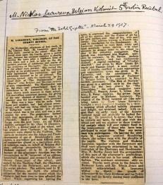 1917 Aberystwyth County School (Ardwyn) 10 Violin recital March 1917 rez
