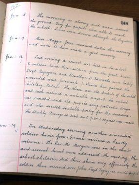 llanddewi-brefi-log-book-jan-12-1917