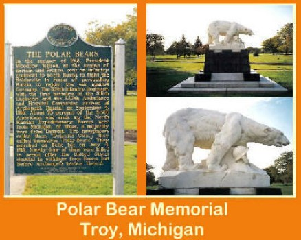 Polar Bear Memorial, Troy, Michigan