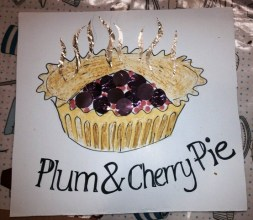 Annelise's plum pudding