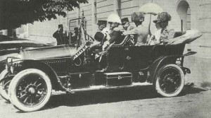 Franz Ferdinand at Sarajevo